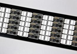 Bespoke micro radio DMX pixel controller