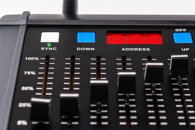Cinelex Spectre Desk - Universal Wireless DMX Lighting Control